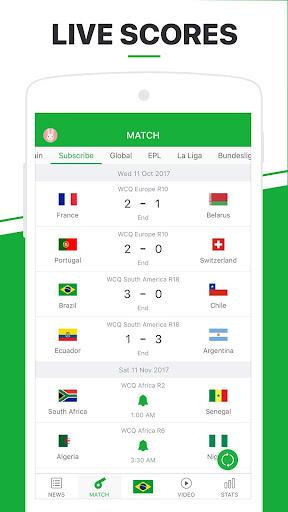 All Football - Soccer,Live Score,Videos 1.8.6u screenshots 2