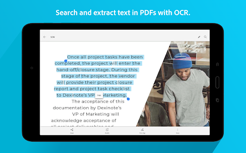 Adobe Scan: PDF & Business Card Scanner with OCR Screenshot