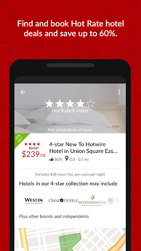 Hotwire Hotel & Car Rental App screenshot 5