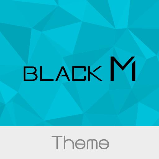 Black M - Cyan Theme