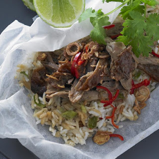 Duck and Rice Packets Recipe