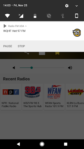 Radio FM USA 6.1 screenshots 3