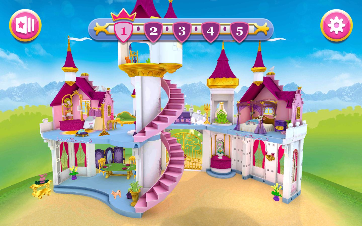 Playmobil princess castle android apps on google play for Playmobil chambre princesse