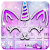 Silver Unicorn Cat Keyboard file APK for Gaming PC/PS3/PS4 Smart TV
