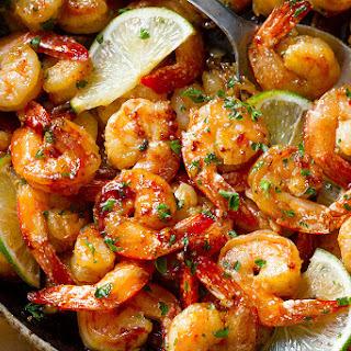 Garlic Lime Shrimp.