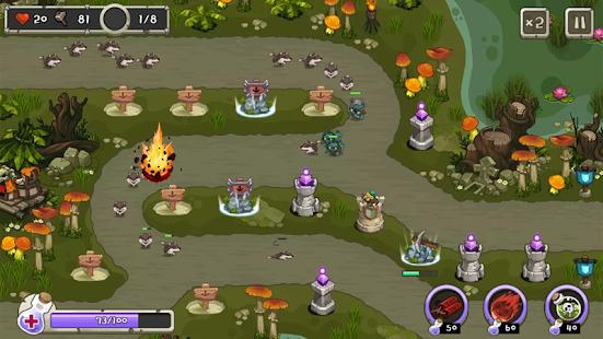 Kule Savunma kral Ekran Görüntüsü