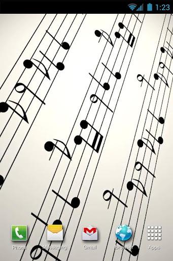 Musical Notation LiveWP