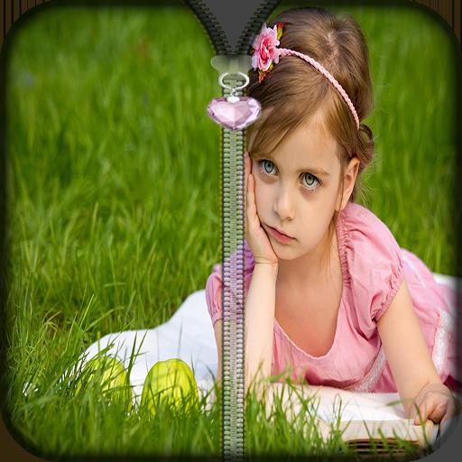 可爱的宝宝拉链锁 個人化 App LOGO-APP試玩