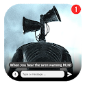 Best Scary Siren Head Fake Chat And Video Call icon