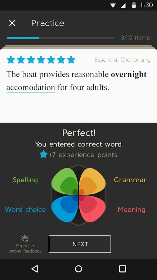 Oxford English Vocab Trainer- screenshot