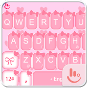 App Cute Pink Bow Keyboard Theme APK for Windows Phone