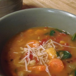 Fat Burning Vegetable Soup.