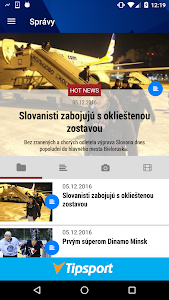 HC SLOVAN Bratislava screenshot 1