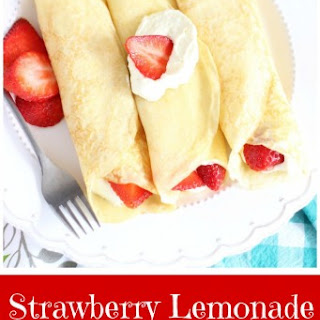 Strawberry Lemonade Crepes
