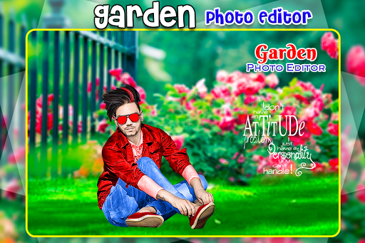 Garden Photo Editor app (apk) free download for Android/PC/Windows screenshot