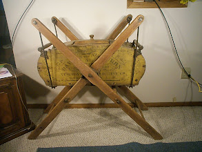Photo: Davis Swing Churn No.2 Bellows Falls, Vermont Pat.Date May 1,1877