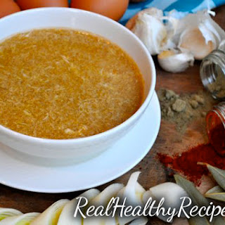 Cold & Flu Recovery Soup.
