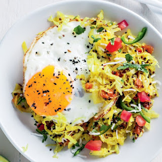 Gujerati Cabbage With Mustard Seeds.