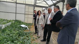 Antonio Ramírez, consejero de Economía, visitó las instalaciones Labcolor, que cumple 30 años, y Las Palmerillas.