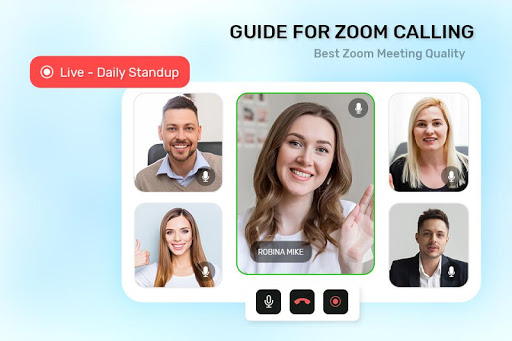 Guide For ZOOM Cloud Meetings VideoCall Conference screenshot 2