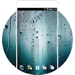 Water Drop HD Wallpaper Theme for Gaxlxy A7 Icon