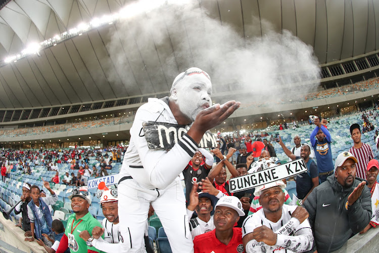 Orlando Pirates fans during were hoping for the maximum points.