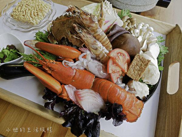 荷芙亭,溫熱的紅牡丹龍蝦堡、痛風鍋、草莓甜點超美味!(菜單)