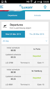 Luxair Luxembourg Airlines- screenshot thumbnail