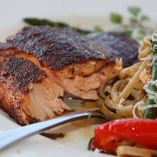 Salmon with Sweet & Spicy Rub (CEimB).
