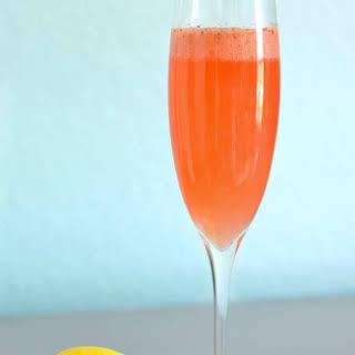 Strawberry Lemonade Mimosa.