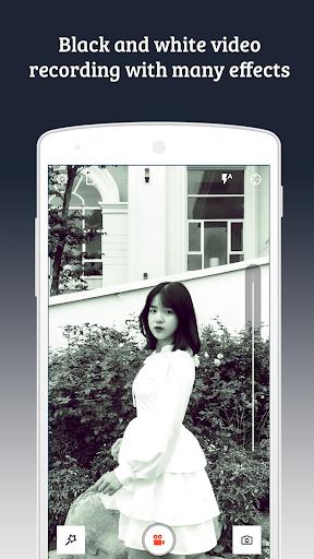 black & white video recorder (b & w video editor) screenshot 1
