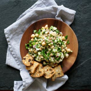 Chickpea Deli Salad from.