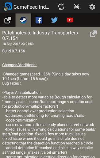 GameFeed Industry Transporters
