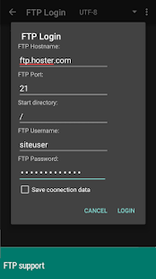 anWriter free HTML editor 5