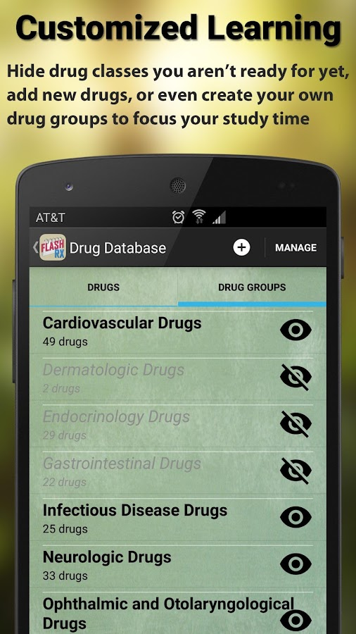 FlashRX - Top 250 Drugs- screenshot