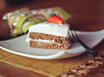 Best Ever Moist Carrot Cake