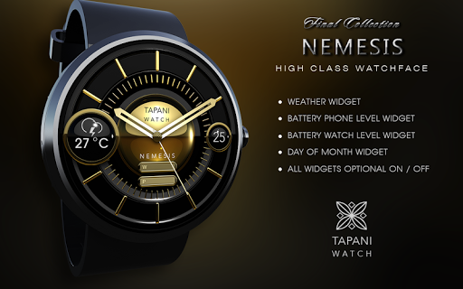 Nemesis weather watch face  screenshots 5