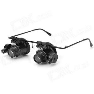 Ochelari Microscop. Ideali pentru studierea obiectelor mici