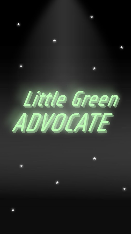 Little Green Advocate- screenshot