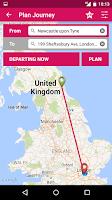 Screenshot of UK Bus Checker - Live Times