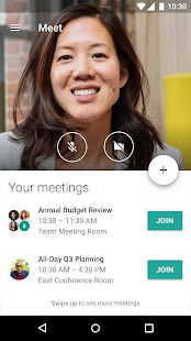 Hangouts Meet- screenshot thumbnail