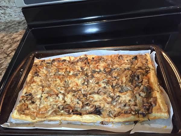 Onion Mushroom Tart Recipe