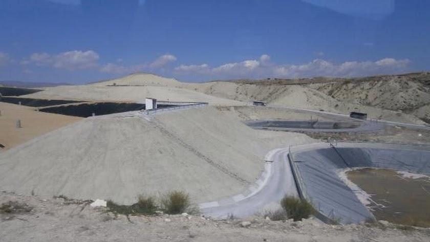 Instalaciones del Consorcio de Residuos situadas en el término municipal albojense.