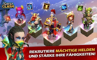 Screenshot of Castle Clash: Ära der Legenden