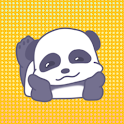 Panda Boo Sticker Pack by Pomelo Tree icon