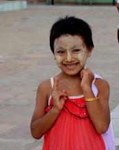 Photo: Year 2 Day 56 - Young Girl at the Lawkananda Pagoda