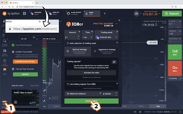 investing in all cryptocurrency iq option-binary options robot