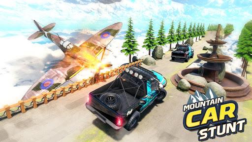 Mountain Climb Stunt: Off road Car Games  screenshots 1