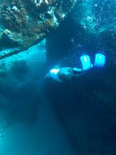 Photo: Snorkeling swim throughs!