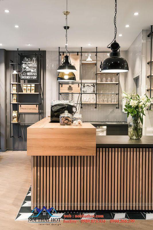 thiết kế quán bánh ngọt đơn giản